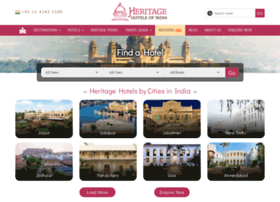 heritagehotelsofindia.com