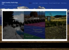 highcountryhydrology.com