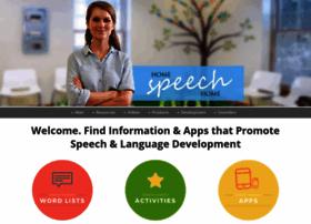 home-speech-home.com