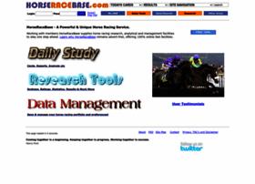 horseracebase.com