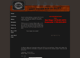 huntersteakhouse.com