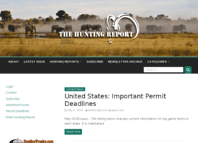 huntingreport.com