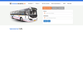 hyderabadbusroutes.com