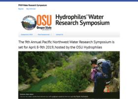 hydrophilesresearchsymposium.org