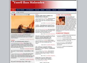 ihzamahendra.com