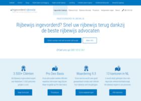 ingevorderd-rijbewijs.nl