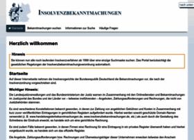 insolvenzbekanntmachungen.de