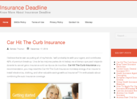 insurancedeadline.com