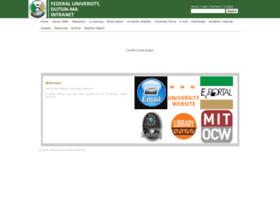 intranet.fudutsinma.edu.ng