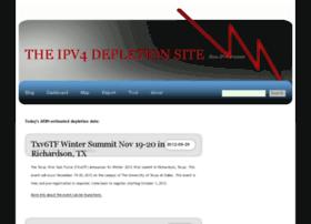 ipv4depletion.com