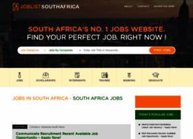 joblistsouthafrica.com