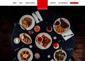joeallenrestaurant.com