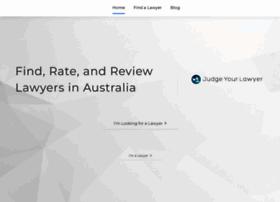 judgeyourlawyer.com.au