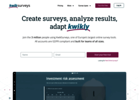 kwiksurveys.com