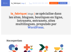 lafabriquedeblogs.com