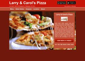 larryncarolspizza.com