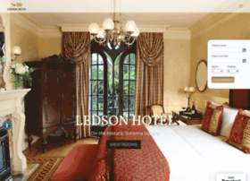 ledsonhotel.com