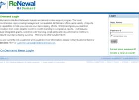 legacy.medlinerenewal.com