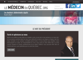 lemedecinduquebec.org