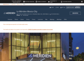lemeridienmexicocity.com