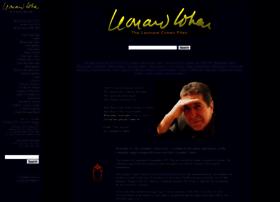 leonardcohenfiles.com