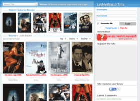 letmewatchthis.ru - Let Me Watch This. LetMeWatchThis | 1Channel | PrimeWire - Watch Movies ...