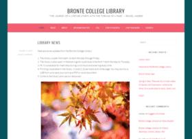 library.brontecollege.ca