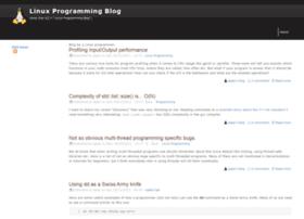 linuxprogrammingblog.com