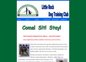 littlerockdogtrainingclub.com