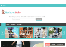 maclarenbaby.com.au