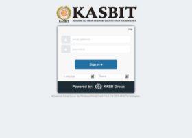 mail.kasbit.edu.pk