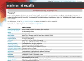 mail.mozilla.org