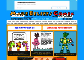 makebeliefscomix.com