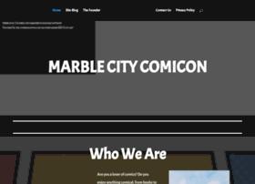 marblecitycomicon.com
