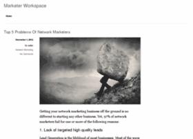 marketerworkspace.com