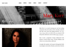 marykarr.com