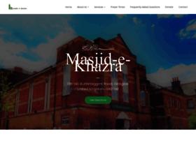 masjidkhazra.org