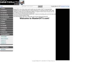 masteroftv.com