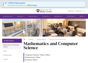 mathcs.holycross.edu