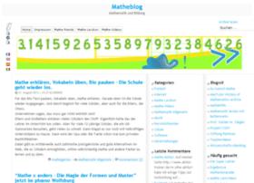 matheblog.de
