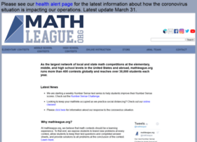 mathleague.org
