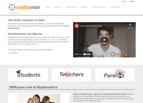 mathsman.co.za