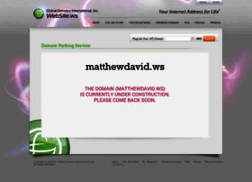 matthewdavid.ws