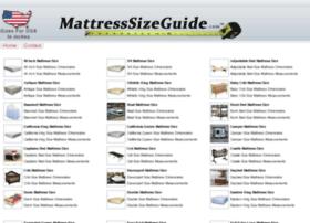 mattresssizeguide.com