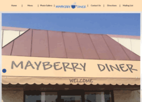 mayberrydiners.com