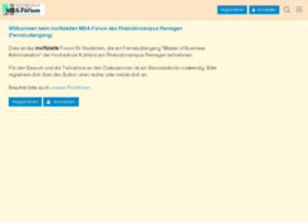 mba-forum.olafkoester.de