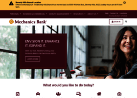 mechanicsbank.com