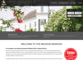 melrosemansion.com