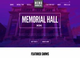 memorialhallotr.com