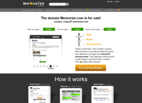 memorize.com